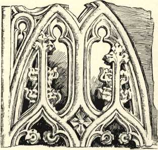 Detail of tracery